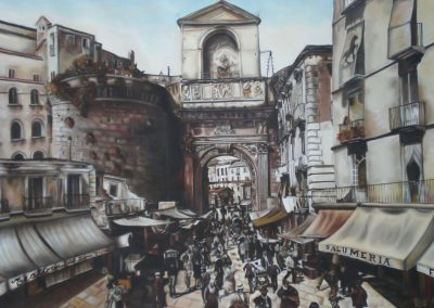 Plaza Capuana, Napoli